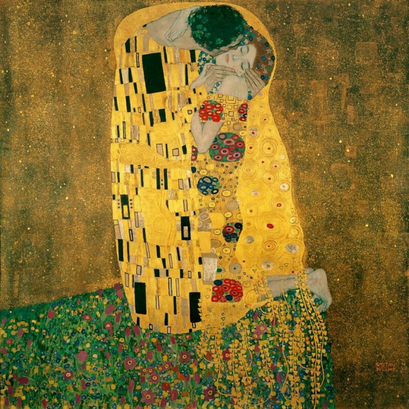 Увидеть вживую работы Климта