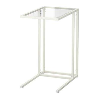 ВИТШЁ Подставка д/ноутбука - белый/стекло  - IKEA