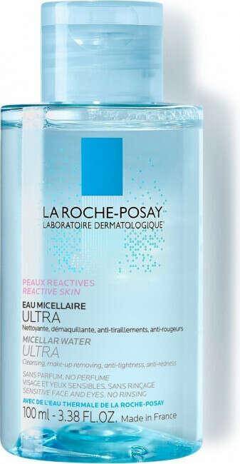 """La Roche-Posay """"Ultra Sensitive"""", Мицеллярная вода для чувствительной кожи, 100 мл"""