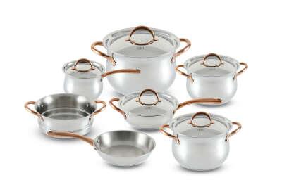 Набор посуды GIPFEL 1515 ABSOLUTE из 12 предметов