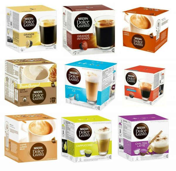 Капсулы для кофе (Dolce Gusto)