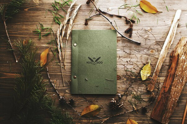 Скетчбук Forest Note Voodoo Books