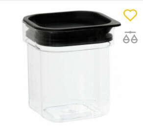 Контейнер для сыпучих продуктов Plast team Hamburg 0.6 л (TEA-5170)