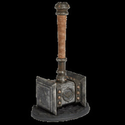 World of Warcraft Doomhammer Premium Replica with Display Stand