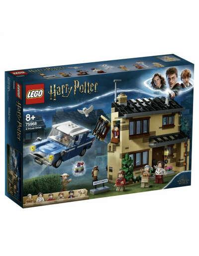 Конструктор LEGO Harry Potter Тисовая улица дом 4 75968