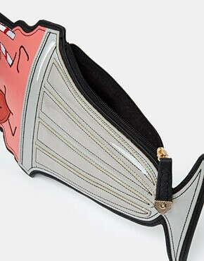 Клатч с дизайном в виде коктейля New Look