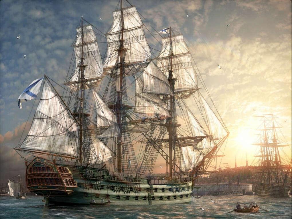 Совершить кругосветное путешествие на корабле, будучи частью команды
