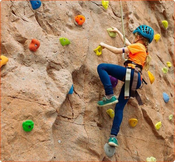 Visit the Kul-tau climbing wall