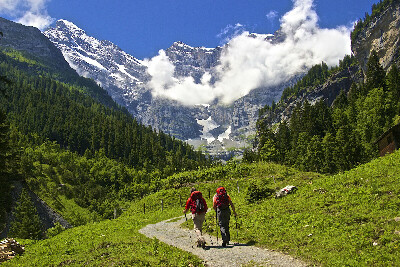 Хайкинг в Альпах