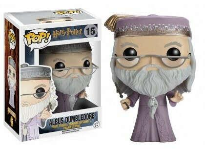 Funko Pop! Фигурка Дамблдора с палочкой из фильмов о Гарри Поттере