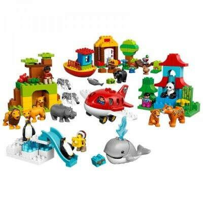 Конструктор DUPLO LEGO Вокруг света