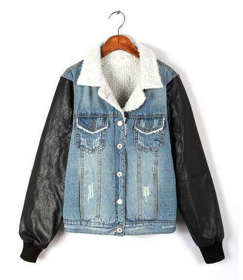 я хочу джинсову куртку батник