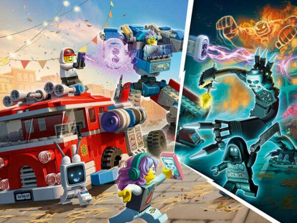 Конструктор Hidden Side™ (Хидден Сайт) 70436 Фантомная пожарная машина 3000 LEGO® (ЛЕГО) - купить в Сети сертифицированных магазинов LEGO, Москва