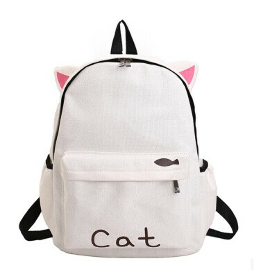 Милый рюкзак котик