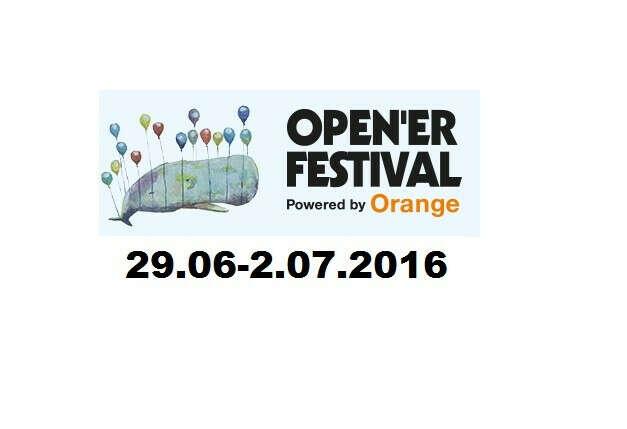Open'er Festival 29.06-2.07.2016