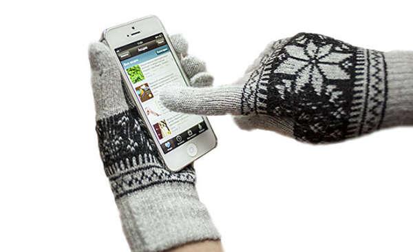 Перчатки для работы с сенсорными устройствами