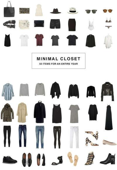 Собрать базовый гардероб