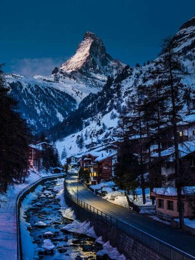Отпраздновать новый год в Альпах