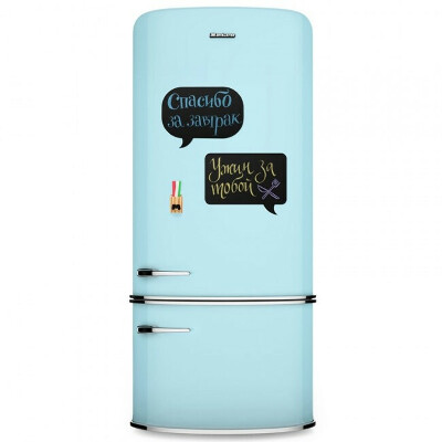 Магнитная доска на холодильник Chat мини