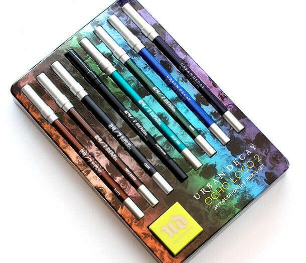 Набор карандашей для век Urban Decay Ocho Loco 2
