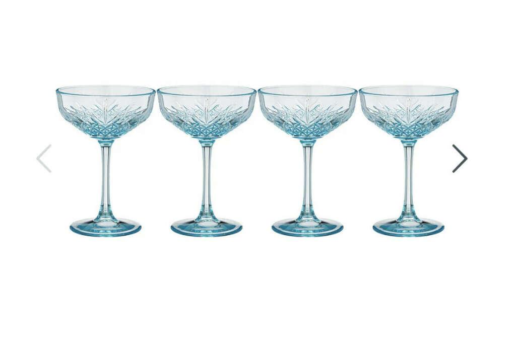 Бокалы для шампанского винтажные