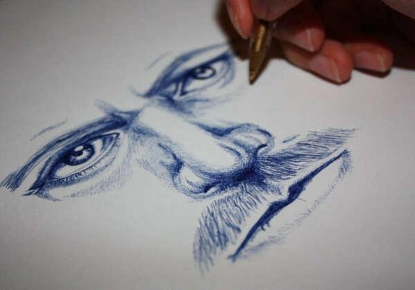 Рисовать ручкой