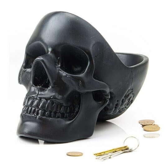 Органайзер для мелочей Skull  / Черный