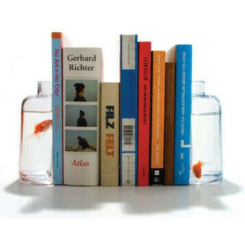 """Ограничители для книг """"Halve Bottle"""""""