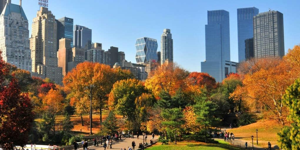 Побывать осенью в Нью-Йорке