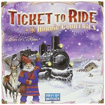 Настольная игра Ticket to ride Nordic Countries