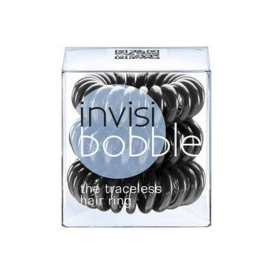 Invisibobble Hair Ring Резинка-браслет черная 3 шт. в упаковке