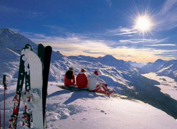 Кататься на сноуборде в Альпах