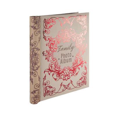"""Альбомы для фото """"Феникс-Презент"""" Фотоальбом с обложкой из картона 01 24 х 29 см Семейный 77724"""