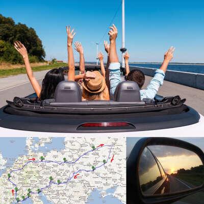 Путешествовать на машине по Европе