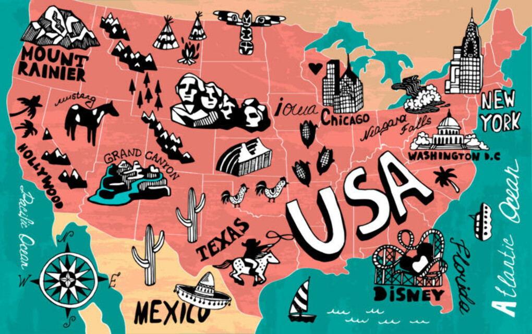 Путешествие по USA