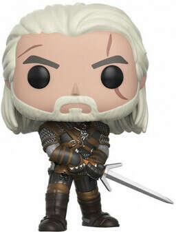 Фигурка Funko POP Games: The Witcher – Geralt (9,5 см)