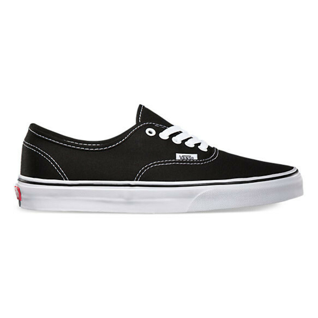 Authentic Black Vans