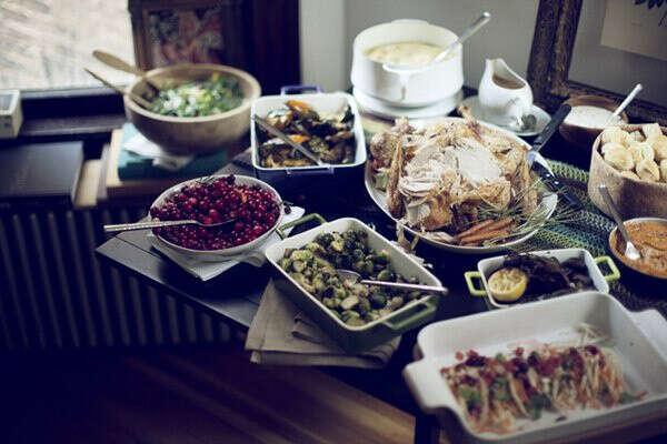 Домашние посиделки за ужином