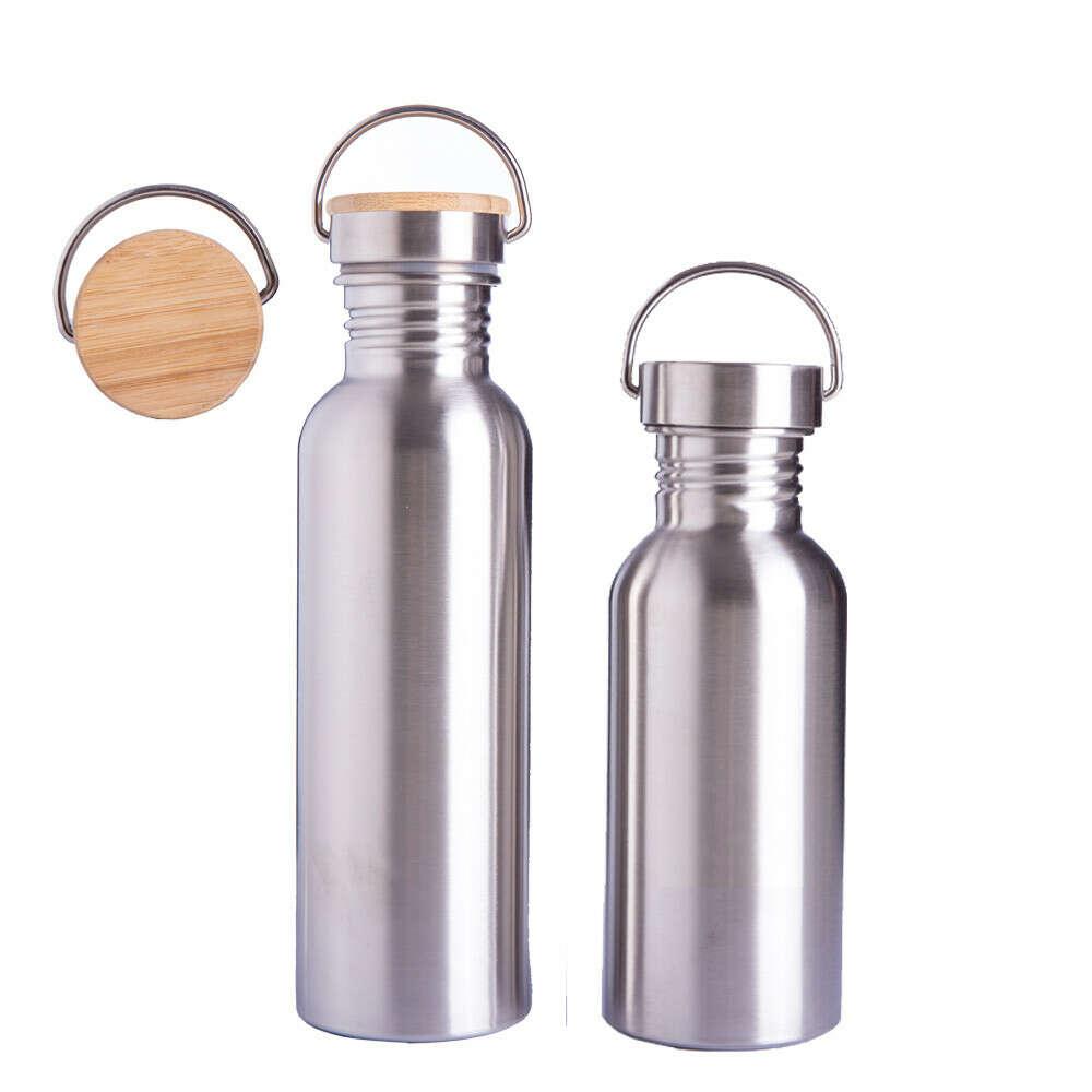 Металлическая бутылка для воды