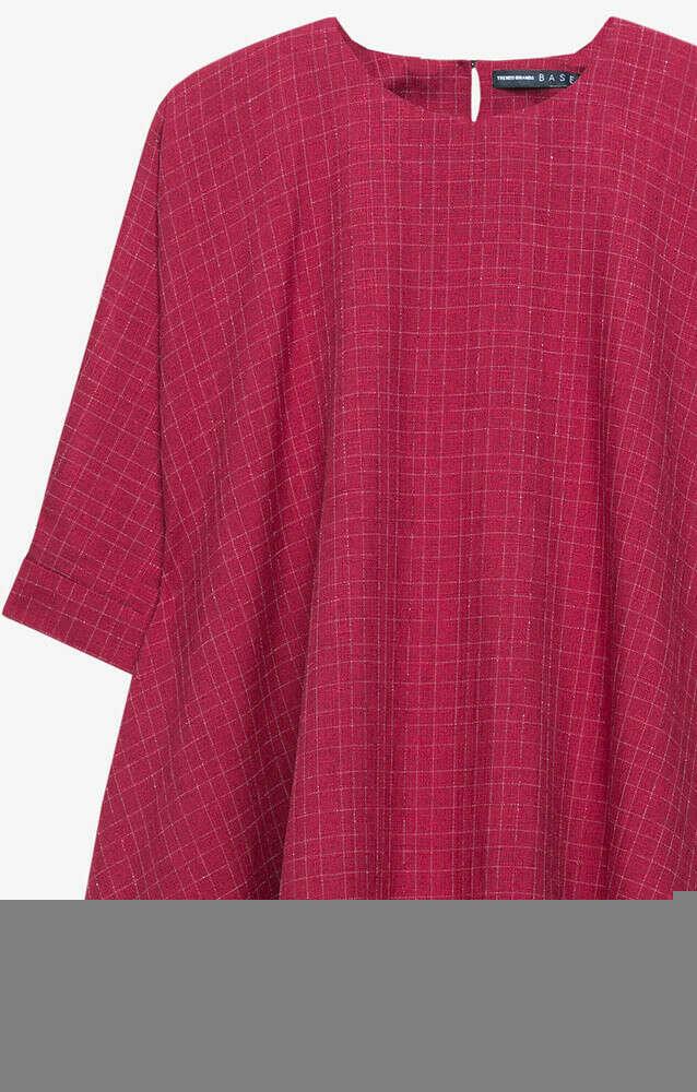 Платье Красное Trends Brands Base 1707_dr110_bordo_sh_at