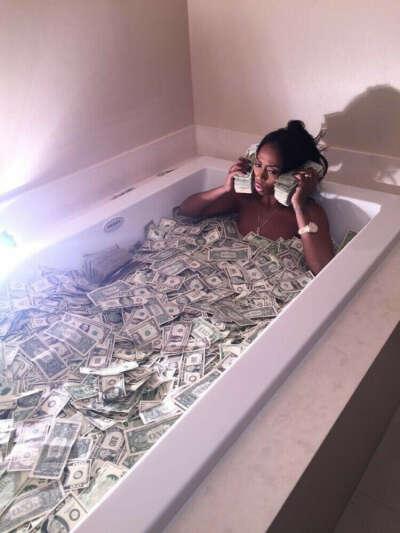 Money love's  everything