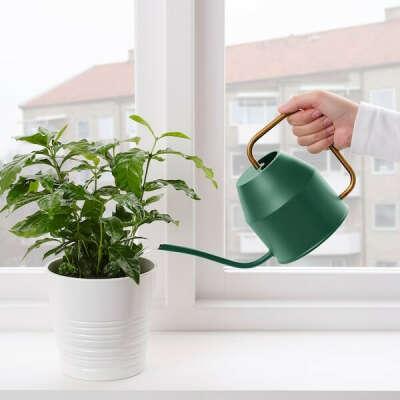 ВАТТЕНКРАССЕ Лейка - темно-зеленый - IKEA