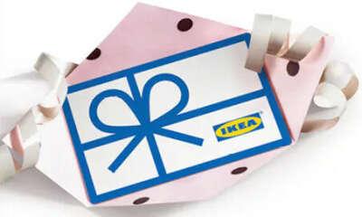 Подарочная карта в IKEA