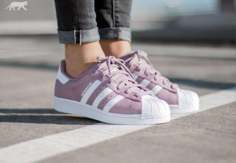 Adidas Superstar W - Blanch Purple/Vintage White