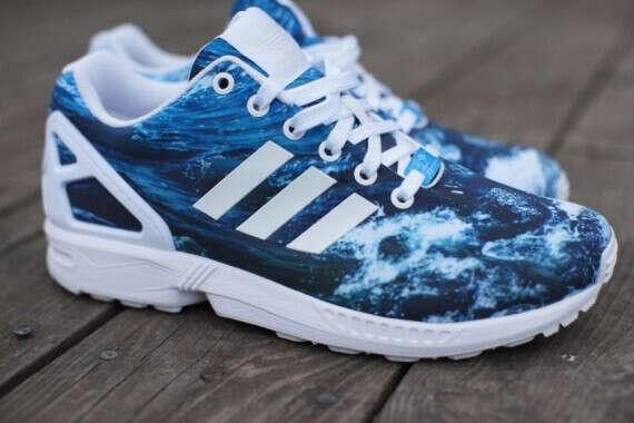 Adidas ZX Flux Ocean Waves