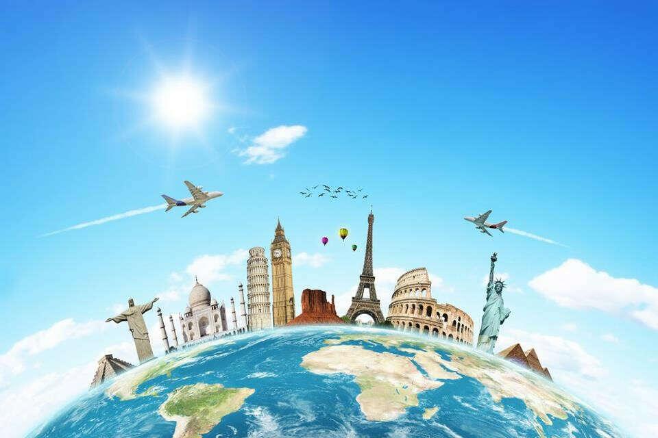 путешествовать четыре раза в год