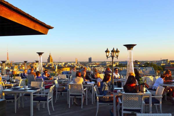 """Breakfast or supper at restauranst """"Terrace Riga"""""""