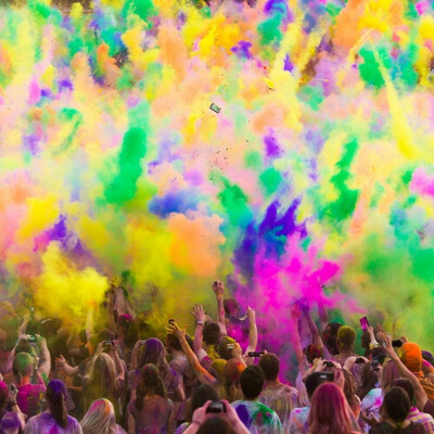Я хочу на фестиваль красок.