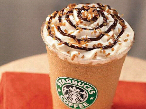 Попробовать кофе из Starbucks