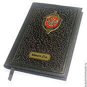 Подарок обложка на паспорт ручная работа